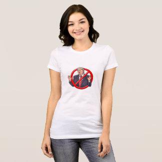 """Camiseta De """"t-shirt NENHUM TUMP"""""""