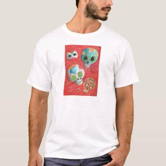 Camiseta De três dias dos crânios inoperantes