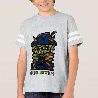 "Camiseta De ""Tshirt do esporte dos meninos Napoleon Kat"""