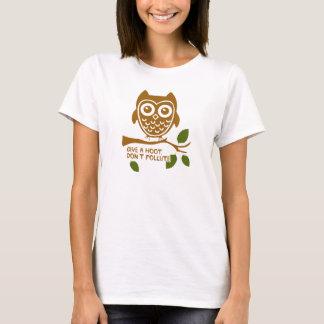 Camiseta Dê uma buzina - não polua
