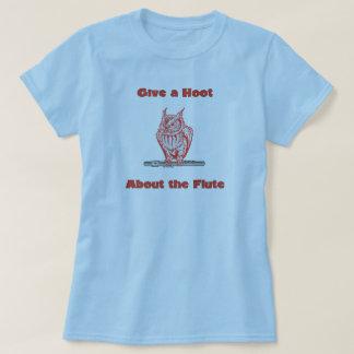 Camiseta Dê uma buzina sobre a flauta (#3)