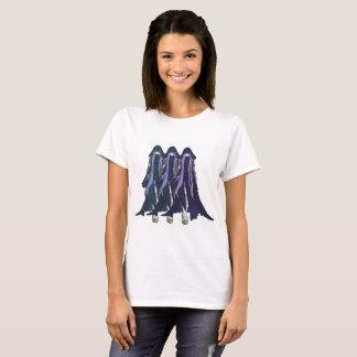 Camiseta De uma Multi-Cor Yoshiko x 3 de três reinos: Azul