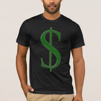 Camiseta $ de vencimento
