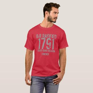 Camiseta Declaração de Direitos 1791