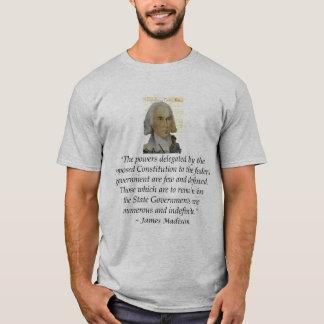 Camiseta Declaração de Direitos Bckgrnd dos direitos de