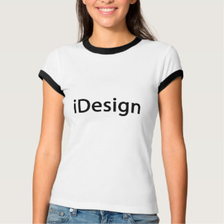 Camiseta decorador interior do iDesign, desenhador de moda