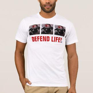 Camiseta DEFENDA A VIDA!  Edição do Kamikaze II