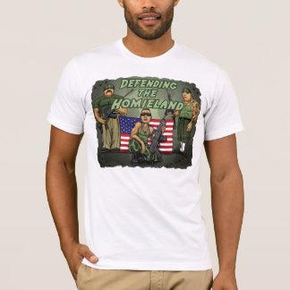 Camiseta Defendendo o Homieland