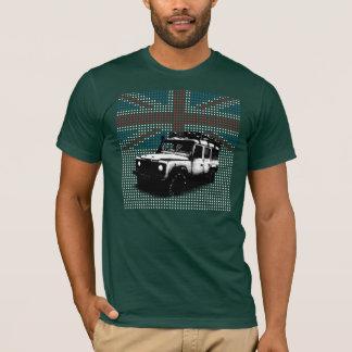 Camiseta Defensor de Union Jack Land Rover