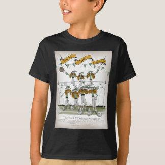 Camiseta defensores irlandeses do futebol
