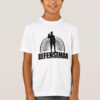Camiseta Defesa do hóquei