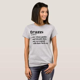 Camiseta Definição do transporte - termos definidos de