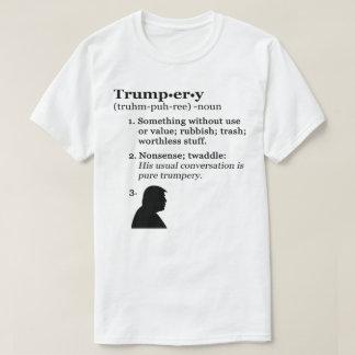 Camiseta Definição do Trumpery - anti presidente Trunfo