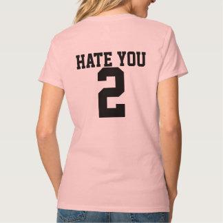 Camiseta Deie-o o t-shirt de 2 mulheres