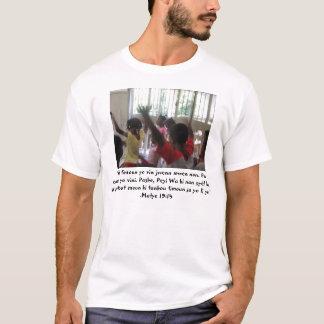 Camiseta Deixe as crianças pequenas vir-me…