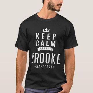 Camiseta Deixe Brooke segurá-lo!