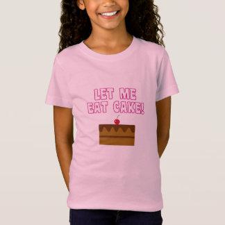 Camiseta Deixe-me comer o bolo