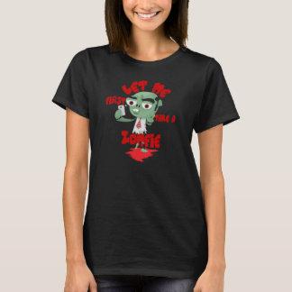 Camiseta Deixe-me primeiramente tomar um Zomfie