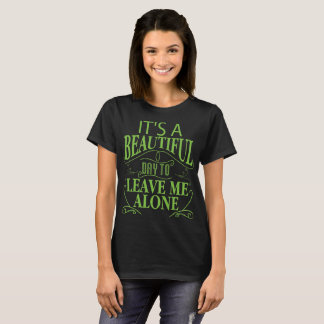 Camiseta Deixe-me sozinho Introverts o t-shirt