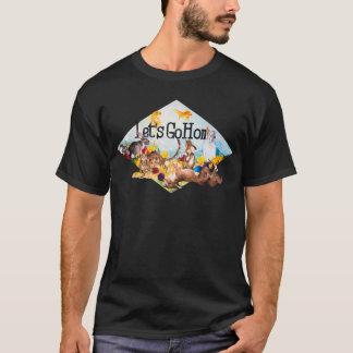 Camiseta Deixe-nos ir em casa t-shirt