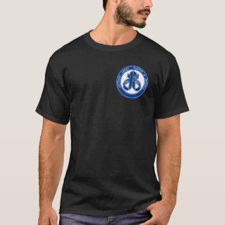Camiseta Deixe-nos manter o rolamento da bola
