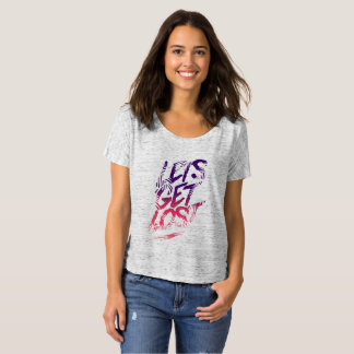 Camiseta Deixe-nos obter perdidos