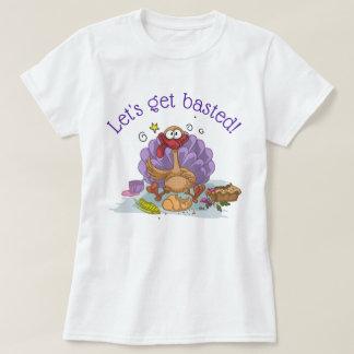 Camiseta Deixe-nos obter regados