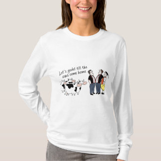 Camiseta Deixe-nos Yodel senhoras Hoody