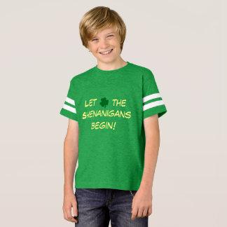 Camiseta Deixe os Shenanigans começar