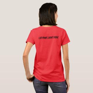 Camiseta Deixe seu brilho claro