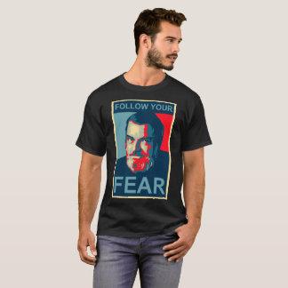 Camiseta Del Fechamento - siga seu medo