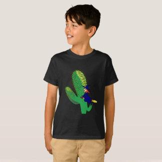 Camiseta Deleite do truque do cacto da vassoura de bruxa do