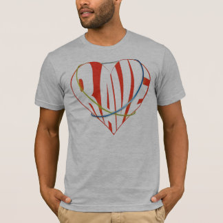 Camiseta delírio do amor