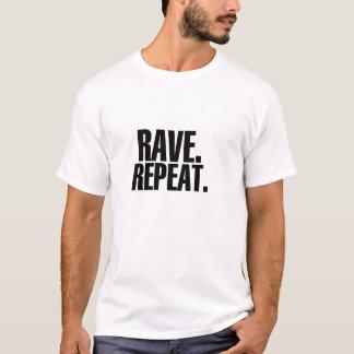 Camiseta Delírio. Repetição