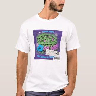Camiseta Demasiado bêbedo ao funk