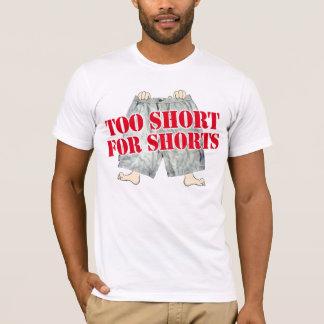 Camiseta demasiado curto para shorts
