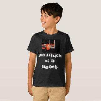 Camiseta Demasiado de um animal criado por Pearse