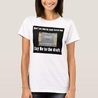 Camiseta Demasiado novo para morrer - não diga nenhum
