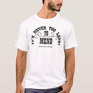 Camiseta Demasiado tarde para emendar