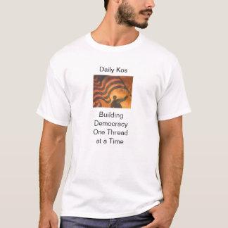 Camiseta Democracia da construção