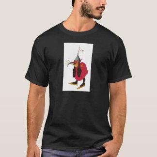 Camiseta Demónio do jardim de prazeres terrestres.