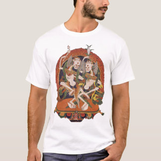 Camiseta Demónios do tibetano da dança
