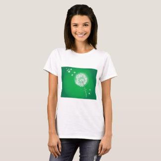 Camiseta Dente-de-leão de sopro