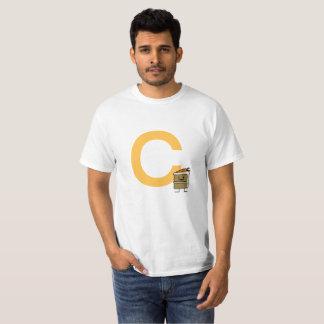 Camiseta Dentes do coelho da fatia do bolo de cenoura que