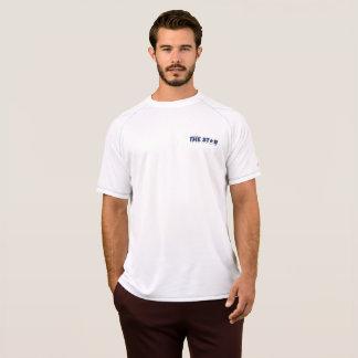 Camiseta Dentro dos T-S secos da malha do dobro do campeão