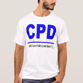 Camiseta Departamento da polícia de Cambridge