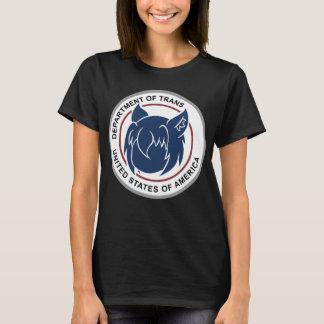 Camiseta Departamento de TraaTan do Tshirt do logotipo do
