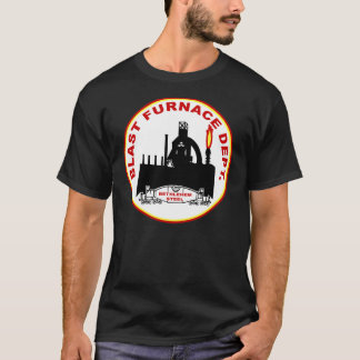 Camiseta Departamento do alto-forno de Bethlehem Steel