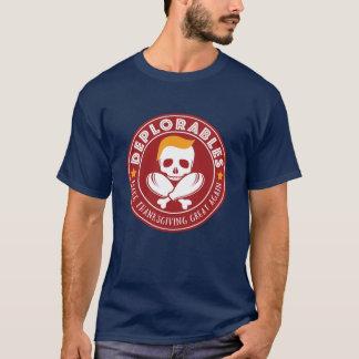 Camiseta Deplorables - faça o excelente da acção de graças