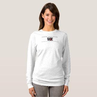 Camiseta Deplorável nós t-shirt longo acolhedor da luva